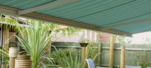 Warwickshire Folding Motorised Patio Awnings And Canopies
