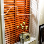 SLX Wood Blinds - 63mm Pecan Blind with 38mm Pecan Tape