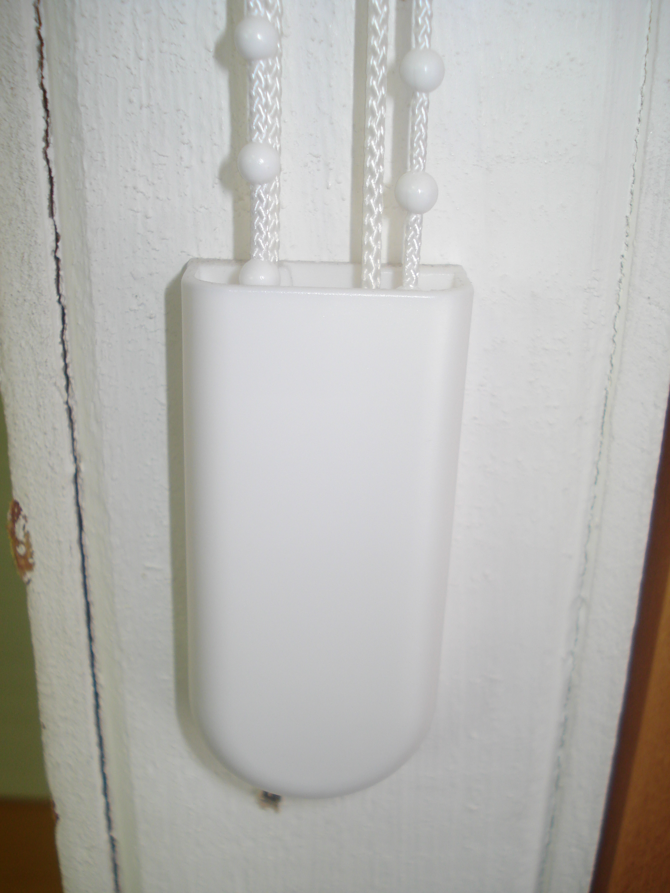 Lh881 Cord Chain Pulley Box Double White Qty1