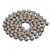 operating chain nickel plated brass no 10
