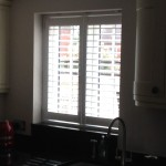 Rugby utility window finished of with a stunning shutter