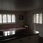 Kitchen-Diner Shutter installation Rugby