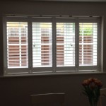 Close up of dining room shutter Rugby